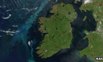 nasa map of Ireland