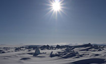 Sunny day in the arctic