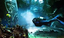 dubai theme park aquarium