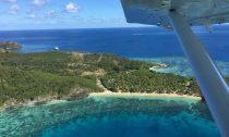 A coral reef off an island in Fiji's Yasawa Group