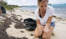 Emily Penn is concerned about the effects of plastic on human health
