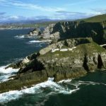 """Mizen Head. Spanish-registered fishing vessel """"Virxen da Blanca"""" was boarded by an inspection team from the LÉ """"William Butler Yeats"""" 150 nautical miles south of Mizen Head."""