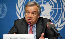 António Guterres of the United Nations