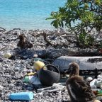 40 tonnes of trash removed from the Pacific