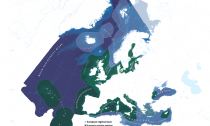 Map of Europe's protected marine areas