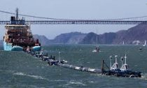 Ocean cleaning device sets sail
