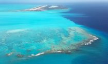 Turks and Caicos Islands' vast barrier reef appear as an expanse of blistering beauty.