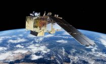 Sentinel -2 Satellite collecting data on micro plastics in the ocean