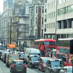 London traffic before the Covid19 lockdown