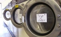 Globally, an estimated 50 billion garments are cleaned in washing machines each year