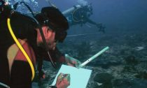 Underwater data collection in progress near Angria Bank