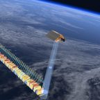 Sentinel-6 carries an altimeter to measure the elevation of water surfaces